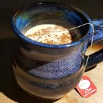 Keto Chai Latte in my favorite squashed fairy mug