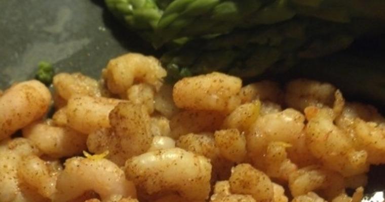 Lemon Spiced Shrimp
